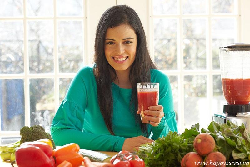 Top White - Điểm danh 4 loại nước ép giúp giảm cân trong tết hiệu quả