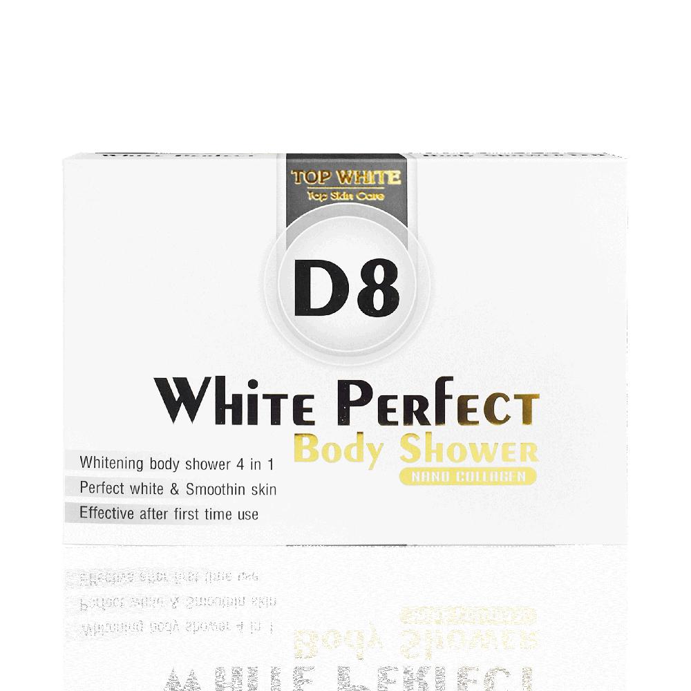 White Perfect Body D8 - Kem tắm trắng da toàn thân