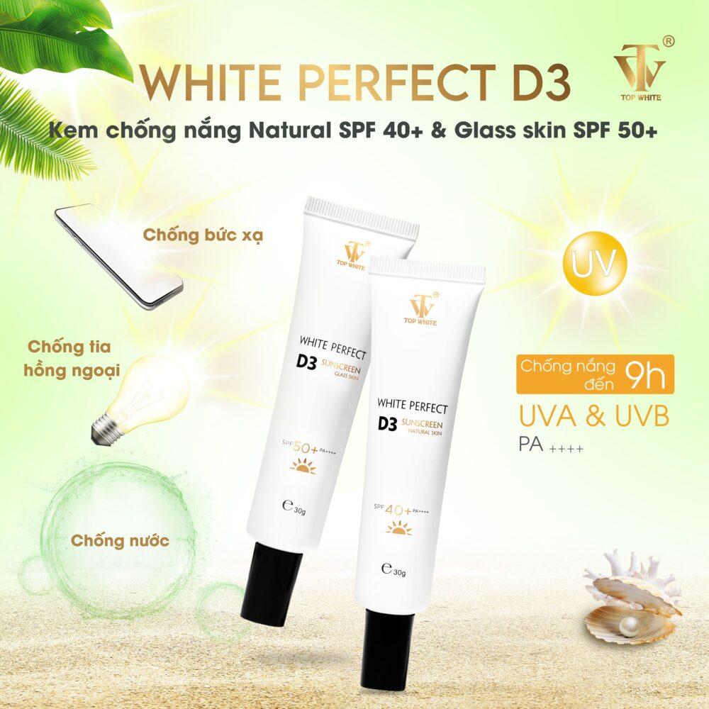 Kem chống nắngWhite Perfect D3