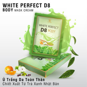 Top White Kem Tắm Trắng White Perfect Body D8